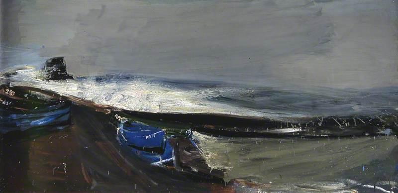 Eardley, Joan Kathleen Harding, 1921-1963; High Tide, a Winter Afternoon